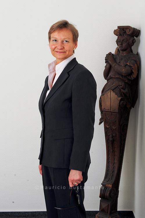 Kirsten Fehrs Die evangelische Bischoefin fuer Hamburg und Luebeck. <br /> 2007-12-16 DEU/Hamburg