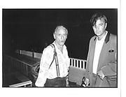 Larry Rivers, Long Island 8 july 1990. © Copyright Photograph by Dafydd Jones 66 Stockwell Park Rd. London SW9 0DA Tel 020 7733 0108 www.dafjones.com
