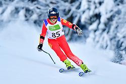Women's Giant Slalom, GUO Jiaxin, LW6/8-2, CHN at the WPAS_2019 Alpine Skiing World Championships, Kranjska Gora, Slovenia