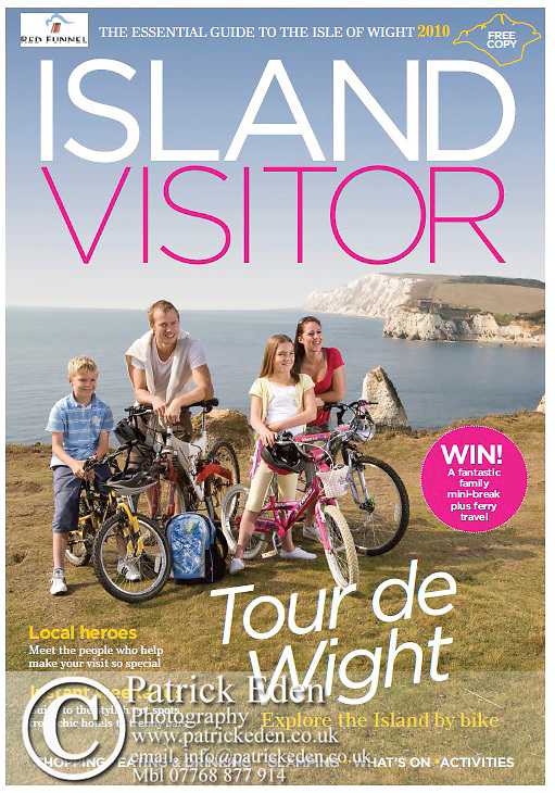 Island Visitor Magazine Cover Isle of Wight UK