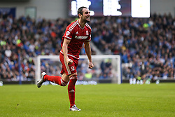 Kike of Middlesbrough celebrates Middlesbrough third goal by Christian Stuani of Middlesbrough - Mandatory byline: Jason Brown/JMP - 07966 386802 - 19/12/2015 - FOOTBALL - American Express Community Stadium - Brighton,  England - Brighton & Hove Albion v Middlesbrough - Championship