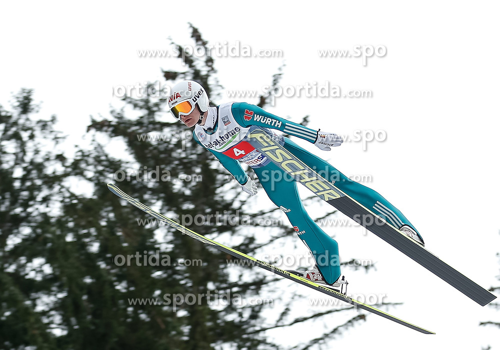 04.01.2014, Bergisel Schanze, Innsbruck, AUT, FIS Ski Sprung Weltcup, 62. Vierschanzentournee, Probesprung, im Bild Marinus Kraus (GER) // Marinus Kraus of Germany during Trial Jump of 62nd Four Hills Tournament of FIS Ski Jumping World Cup at the Bergisel Schanze, Innsbruck, Austria on 2014/01/04. EXPA Pictures © 2014, PhotoCredit: EXPA/ Peter Rinderer