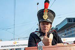 07-04-2019 NED: 39e NN Rotterdam Marathon, Rotterdam<br /> 17,000 runners are shot away with the cannon shot that is the tradition for Rotterdam