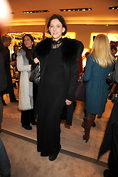MARIA GRACHVOGEL at a party at Roger Vivier, Sloane Street, London on 2nd December 2008.