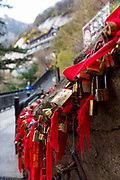 Love Locks, Mt Huashan, Xian, Shaanxi Province, China