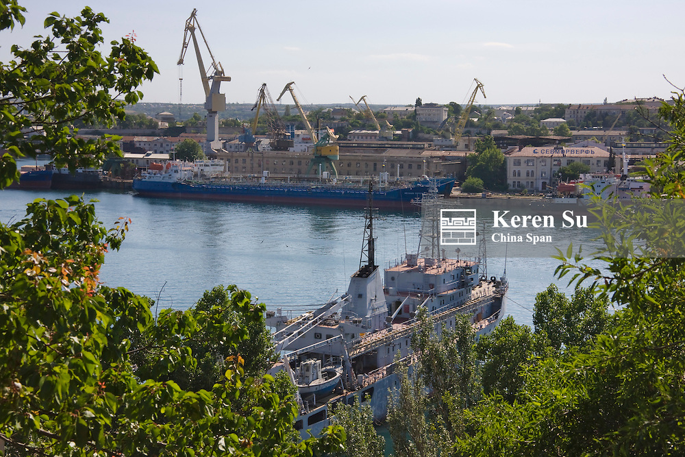 Sevastopol on Crimean Peninsula, Naval base, Ukraine, Europe