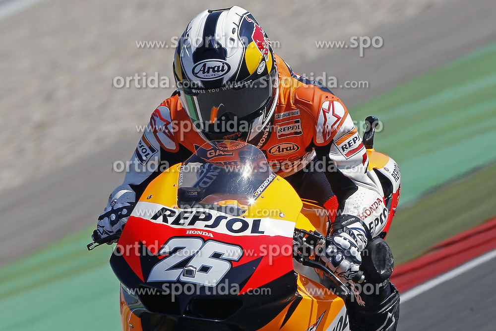 25.06.2010, Assen, NLD, MotoGP, TIM TT Assen, im Bild Dani Pedrosa - Repsol Honda team. EXPA Pictures © 2010, PhotoCredit: EXPA/ InsideFoto/ Semedia +++ for AUT and SLO only +++ / SPORTIDA PHOTO AGENCY