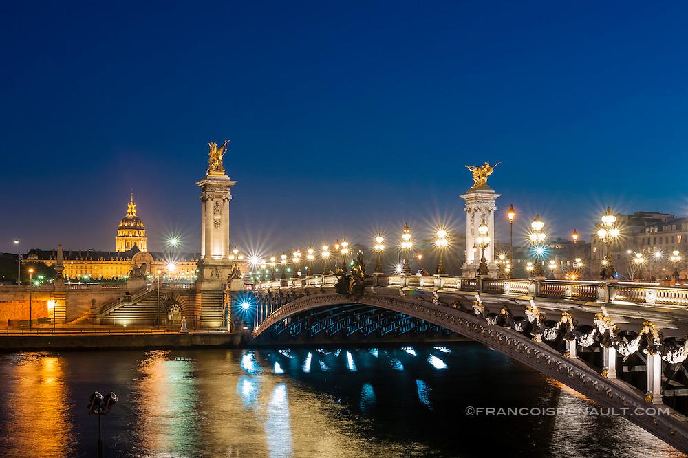 Paris, le Pont Alexandre III