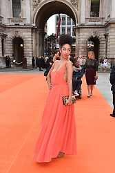 Pearl Mackie at the Royal Academy of Arts Summer Exhibition Preview Party 2017, Burlington House, London England. 7 June 2017.