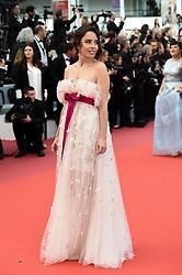 May 22, 2019 - Cannes, France - 72eme Festival International du Film de Cannes. Montée des marches du film ''Roubaix, une lumiere (Oh Mercy!)''. 72th International Cannes Film Festival. Red Carpet for ''Roubaix, une lumiere (Oh Merci!)'' movie.....239728 2019-05-22  Cannes France.. Bouchez, Elodie (Credit Image: © L.Urman/Starface via ZUMA Press)