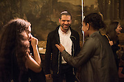 ZORA CASEBERE; JASON MORAN; TURIYA ADKINS, Okwui Enwezor and Vinyl Facorty hosted party at Ca'Sagredo, Campo Santa Sofia Venice Biennale, Venice. 5 May 2015