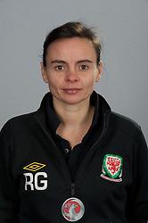 TREFOREST, WALES - Tuesday, February 14, 2011: Wales' physiotherapist Rachel Greenley. (Pic by David Rawcliffe/Propaganda)