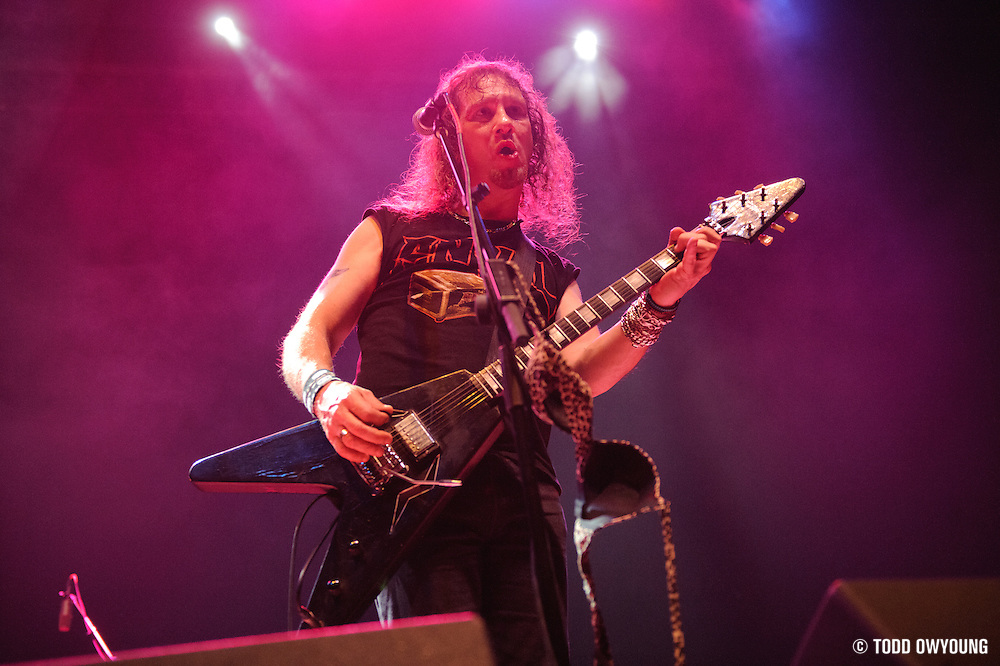 Photos of Canadian heavy metal band Anvil on the Anvil Experience Tour 2010.