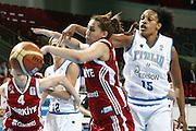DESCRIZIONE : Riga Latvia Lettonia Eurobasket Women 2009 Qualifying Round Italia Turchia Italy Turkey<br /> GIOCATORE : Marte Alexander Nalie Ivegin<br /> SQUADRA : Italia Italy Turchia Turkey<br /> EVENTO : Eurobasket Women 2009 Campionati Europei Donne 2009 <br /> GARA : Italia Turchia Italy Turkey<br /> DATA : 12/06/2009 <br /> CATEGORIA : rimbalzo<br /> SPORT : Pallacanestro <br /> AUTORE : Agenzia Ciamillo-Castoria/E.Castoria<br /> Galleria : Eurobasket Women 2009 <br /> Fotonotizia : Riga Latvia Lettonia Eurobasket Women 2009 Qualifying Round Italia Turchia Italy Turkey<br /> Predefinita :