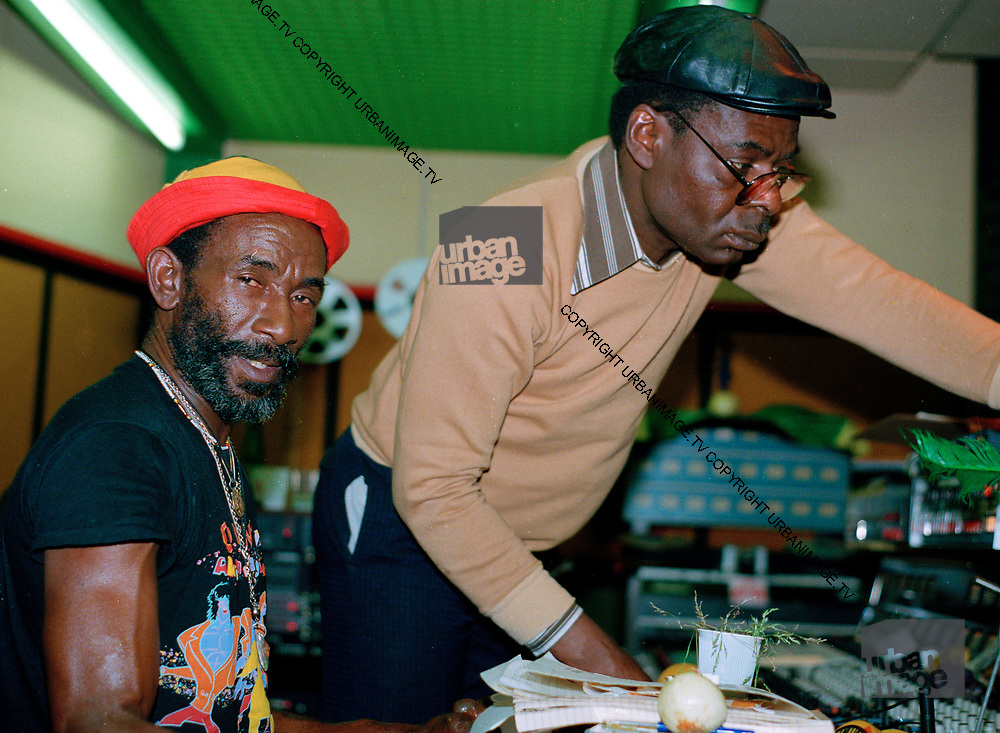 Lee Perry with Syd Bucknor
