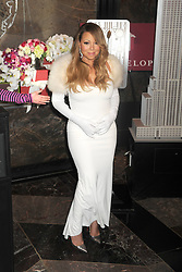61065600<br /> Mariah Carey starts the 20 Valentines  day weddings Event in The Empire State Building, New York, US, Thursday, 13th February 2014. Picture by  imago / i-Images<br /> UK ONLY