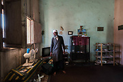 "Abdullah, once Pedro Ramos, 65 yo and eleven children. He's a Muslim from ten years, into Islam since kid. After knowing some Pakistani students, he started to frequent the Islamic community of Havana and other Cuban cities. He hosts a ""masalla"" in a part of his home, so other ""hermanos"" or stranger Muslims can pray and meet there. He lives in Jovellanos, a small town in the Matanzas province, 160 km South East Havana."