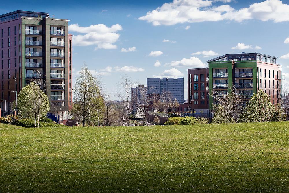 birmingham england uk midlands new housing residential flats apartments