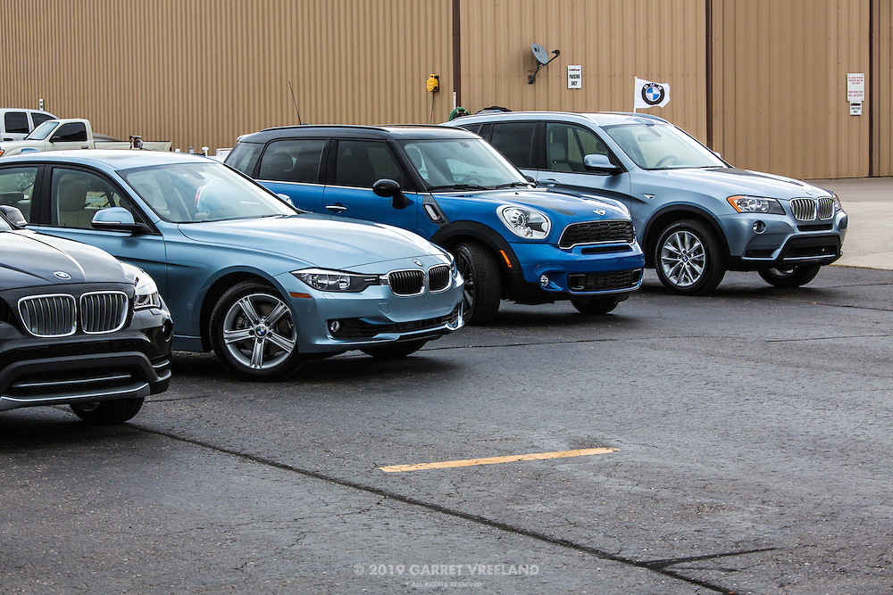 Sponsors of the Concorso: BMWs and Mini.
