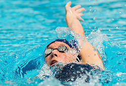 Anja Klinar of PK Gorenjska Banka Radovljica competes in 400m Medley during Slovenian Swimming National Championship 2014, on August 2, 2014 in Ravne na Koroskem, Slovenia. Photo by Vid Ponikvar / Sportida.com