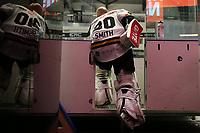 GET-ligaen Ice Hockey, 27. october 2016 ,  Stavanger Oilers v Stjernen<br /> Ruben Smith fra Stavanger Oilers i løpet av pause mot Stjernen<br /> Foto: Andrew Halseid Budd , Digitalsport