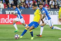 Jeronimo Figueroa Momo of UD Las Palmas during the match of La Liga between Deportivo Leganes and Union Deportiva Las Palmas  Butarque Stadium  in Madrid, Spain. April 25, 2017. (ALTERPHOTOS/Rodrigo Jimenez)