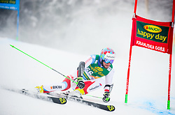 Luca Aerni of Switzerland competes during 1st run of Men's GiantSlalom race of FIS Alpine Ski World Cup 57th Vitranc Cup 2018, on March 3, 2018 in Kranjska Gora, Slovenia. Photo by Ziga Zupan / Sportida