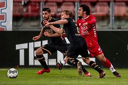 19-01-2018 NED: FC Utrecht - AZ Alkmaar, Utrecht<br /> Yassin Ayoub #8 of FC Utrecht, Jonas Svensson #2 of AZ Alkmaar