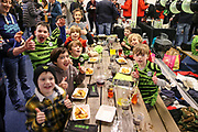 Kids birthday party during the EFL Sky Bet League 2 match between Forest Green Rovers and Walsall at the New Lawn, Forest Green, United Kingdom on 8 February 2020.