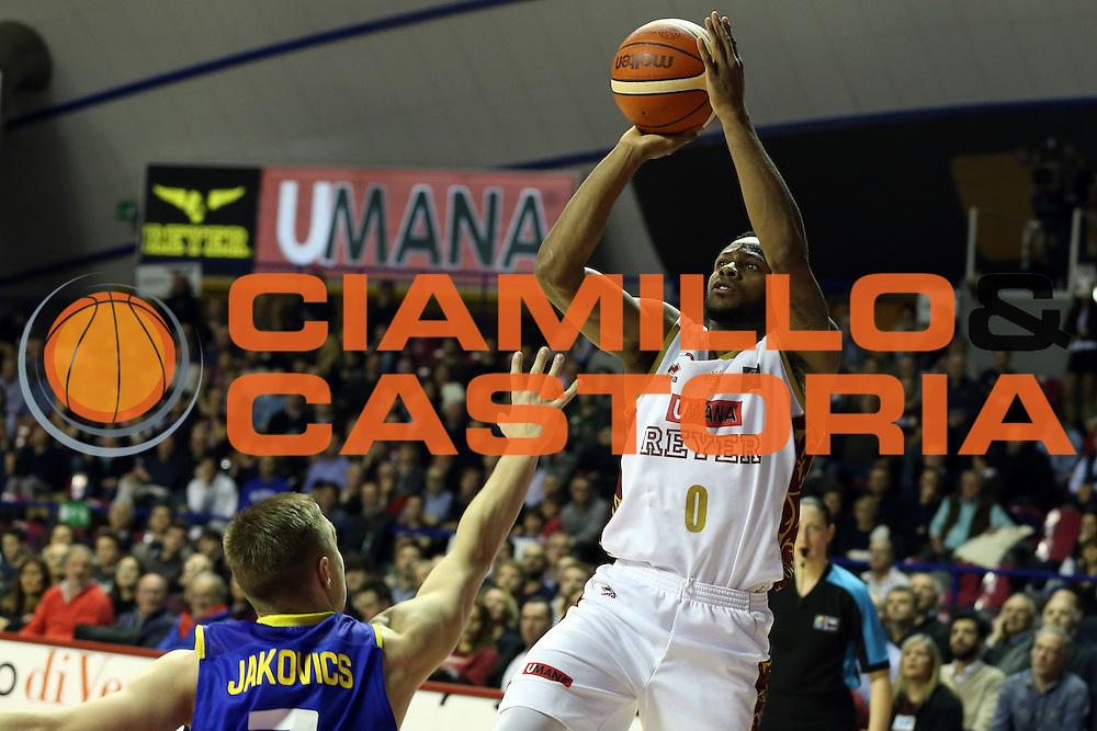 Marquez Haynes<br /> Umana Reyer Venzia vs BK Venspils<br /> Basketball Champions League 2016/2017<br /> Venezia, 22/02/2017<br /> Foto Ciamillo-Castoria/A. Gilardi