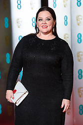 Melissa McCarthy attending the after party for the 72nd British Academy Film Awards, at the Grosvenor House Hotel in central London. Picture date: Sunday February 10th, 2019. Photo credit should read: Matt Crossick/ EMPICS Entertainment.