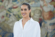 Ona Carbonell before an audience with Spanish Royals at Zarzuela Palace on July 23, 2019 in Madrid, Spain