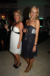Left to right, sisters TAMSIN LONSDALE and TAHNEE LONSDALE at Andy & Patti Wong's annual Chinese New year Party, this year to celebrate the Year of The Pig, held at Madame Tussauds, Marylebone Road, London on 27th January 2007.<br /><br />NON EXCLUSIVE - WORLD RIGHTS