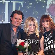 NLD/Amsterdam/20121112 - Beau Monde Awards 2012, Leco Zadelhoff, Nikkie Plessen en Leontien Borsato - Ruiters