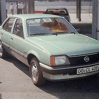 Opel Stand, Hockenheim test day, pre IAA Frankfurt Motor Show 1981