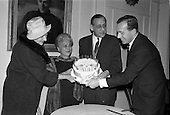 1962 - 40th Anniversary Party for Maidenform Inc., at the Gresham Hotel, Dublin