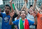 Football Fans in Milan