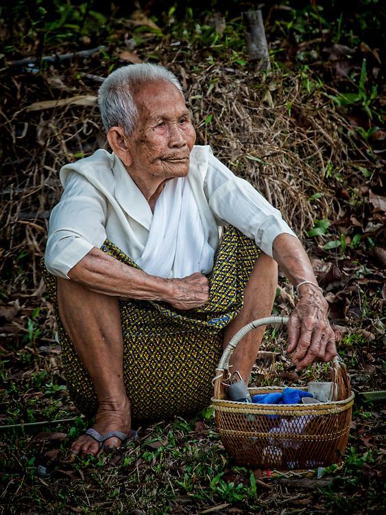 1st Day of Songkran 2014 in  Rural Nakhon Nayok, Thailand.