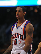 Mar. 6 2010; Phoenix, AZ, USA;  Phoenix Suns center Channing Frye (8) in the second half at the US Airways Center. The Suns defeated the Pacers 113 to 105. Mandatory Credit: Jennifer Stewart-US PRESSWIRE.