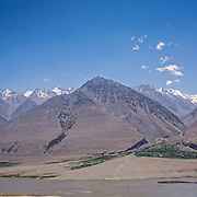 View through Afghanistan to Pakistan's Hindu Kush from Wakhan Valley