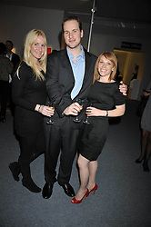 Guests at the Moet Hennessy Pavilion of Art & Design London Prize 2009 held in Berkeley Square, London on 12th October 2009.