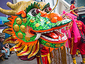 Dragon Dance at Erawan Shrine