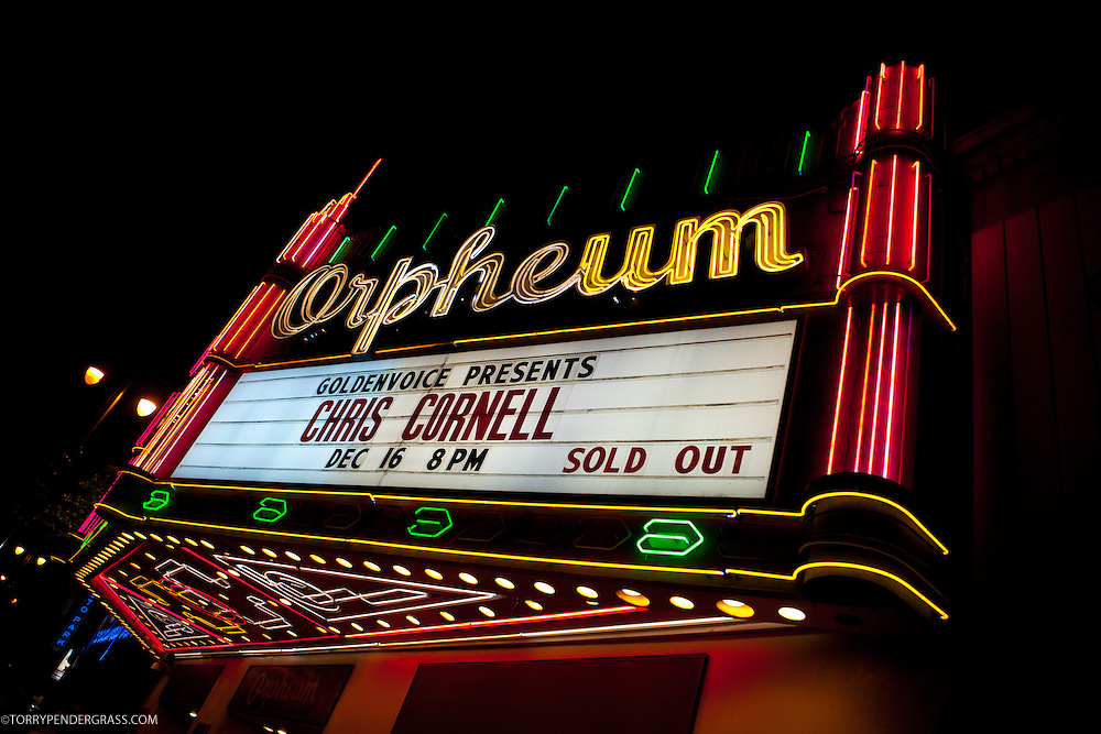 Chris Cornell performs on Dec. 16 2011 at the Orpheum Theatre in Los Angles, California