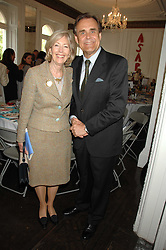 LADY SOLTI and RICHARD STAMP at a lunch in aid of African Solutions To African Problems held at Il Bottaccio, 9 Grosvenor Place, London on 20th May 2008.<br /><br />NON EXCLUSIVE - WORLD RIGHTS