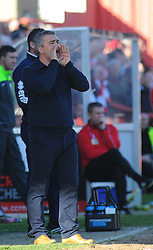 Cheltenham Town Manager, Russell Milton - Photo mandatory by-line: Nizaam Jones  - Mobile: 07966 386802 - 07/03/2015 - SPORT - Football - Cheltenham - Whaddon Road- Cheltenham Town v Mansfield - Sky Bet League Two