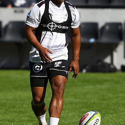 DURBAN, SOUTH AFRICA - MAY 06: Garth April during the Cell C Sharks Captains run at Growthpoint Kings Park on May 06, 2016 in Durban, South Africa. (Photo by Steve Haag/Gallo Images)