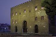 Palermo, Zisa castle, 12th century.<br /> Palermo, castello della Zisa,  XII sec.