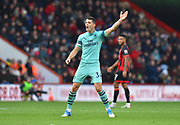 Granit Xhaka (34) of Arsenal during the Premier League match between Bournemouth and Arsenal at the Vitality Stadium, Bournemouth, England on 25 November 2018.