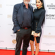 NLD/Amsterdam/201807 - Leading Ladies Awards 2018, advocaat Mark Teurlings en model Elvira Pєnthєѕílєα
