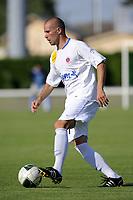 FOOTBALL - FRIENDLY GAMES 2010/2011 - BERRICHONNE CHATEAUROUX v LE MANS UC - 10/07/2010 - JEAN MARIE HERVIO / DPPI - ANTHONY SCARAMOZZINO (CHA)
